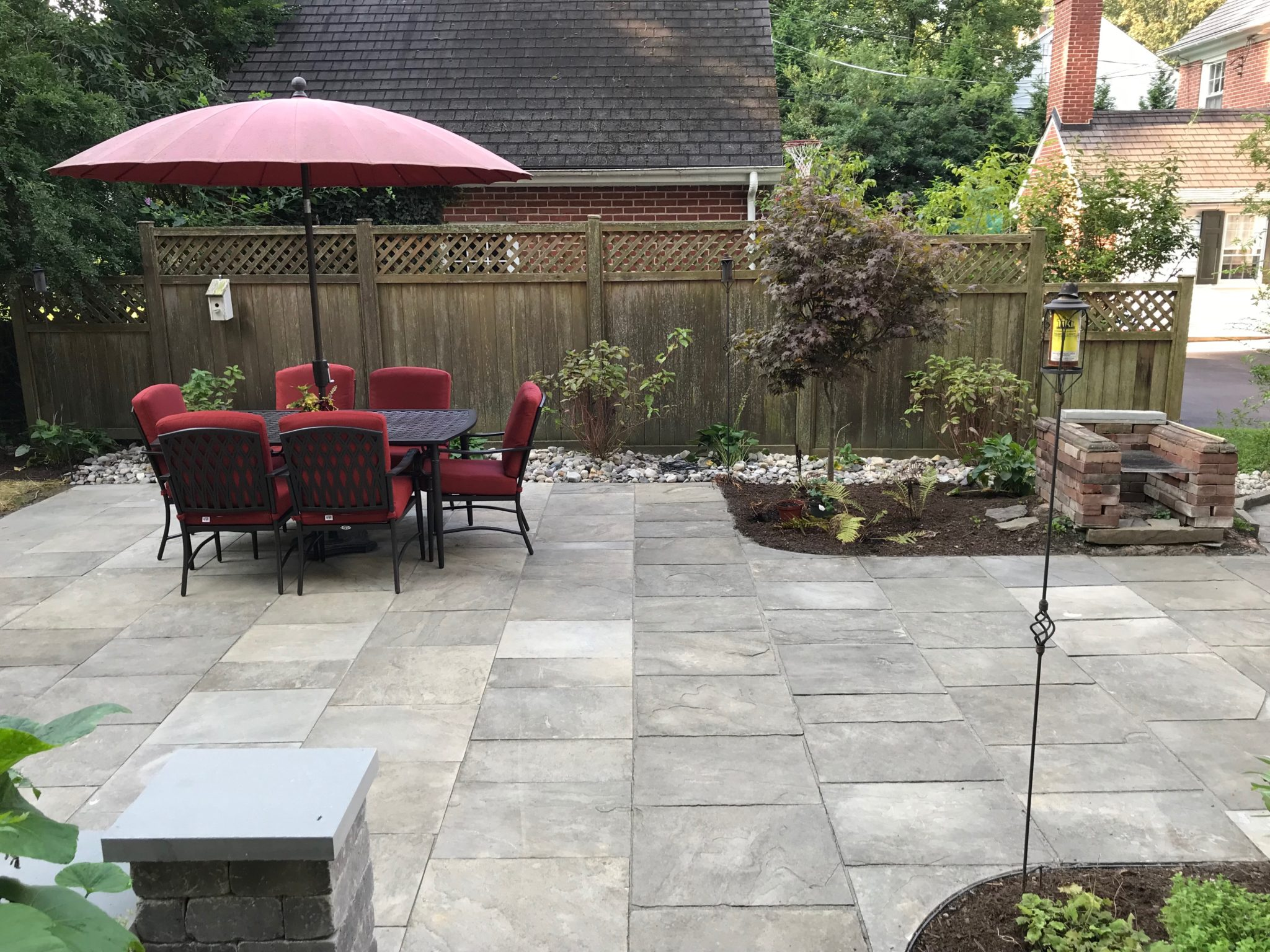 After & Indian Run Landscaping » Patio Renovation
